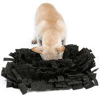 Pet Mat Snuffle Dog Smell Training Mat Stress Release Nose work Blanket Dog Nosework Mat Dog Blanket Green For Dog Sniffing Pad