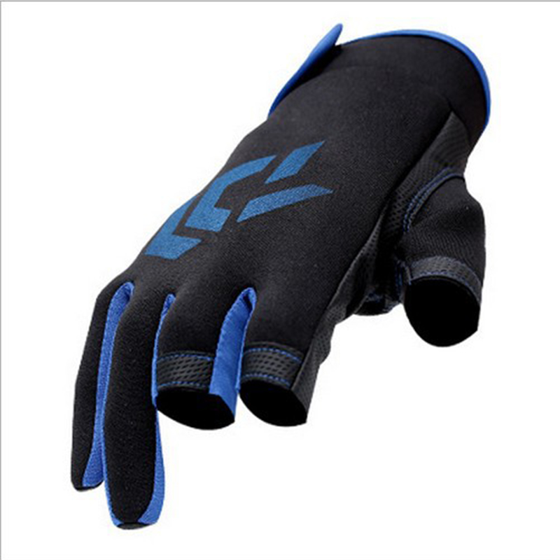 High-quality Durable Outdoor Breathable Fishing Gloves 3 Fingers Cut Water-proof Sports Gloves Anti-Slip Glove плашкодержатель сибртех 77425 1 25мм м8
