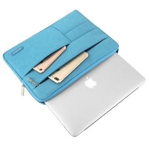"Image 4 - MOSISO Waterproof Laptop Bags Sleeve Notebook Case for Lenovo Macbook Air 13.3 inch Cover Retina Pro 13.3""zipper bag Computer Ba"