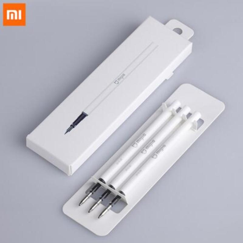 3 шт. Оригинальные японские чернила Xiaomi Mijia 9,5 мм прочные ручки для подписи Mi PREMEC гладкие швейцарские Сменные ручки MiKuni для Xiaomi Sign Pens