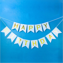 QWWSS DIY Happy Birthday For Kids Party Supplies