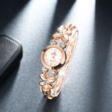 New Design Diamond Women's Watch Rose Rose Gold Bracelet Wrist Wacth Girls Ladies Dress Watches Clocks relogio feminino