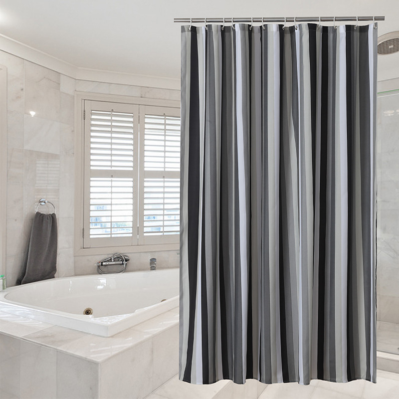 Duschvorhang Muster Luxus Vorhang Wasserdicht Gestreifte