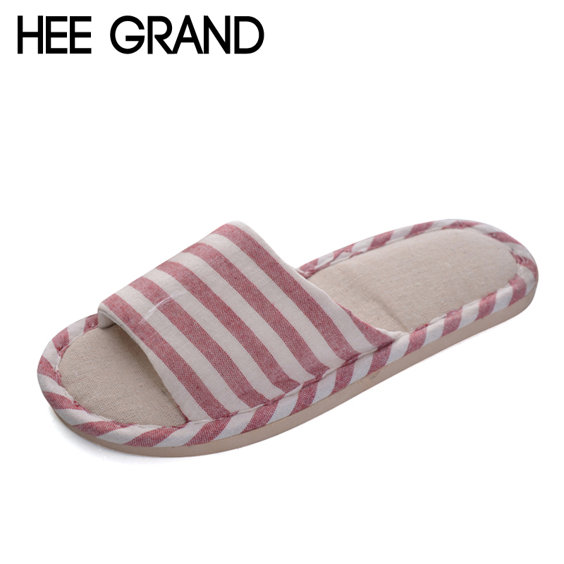 HEE GRAND Unisex House Men Women shoes Slippers Strap Flats Shoes Woman Slip On Women Men Shoes 5 Colors Size 36-41 XWT965 lanshulan bling glitters slippers 2017 summer flip flops platform shoes woman creepers slip on flats casual wedges gold