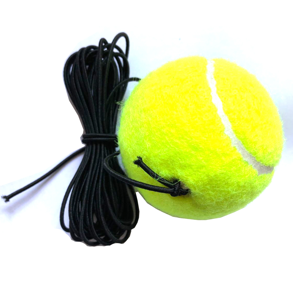Top quality String Replacement Elastic Rubber Band Tennis Balls sell well Tennis Training Belt Line Training Ball drop shipping