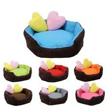 WCIC мягкая теплая собака кровать 7 цветов 3 размера водостойкий коврик для маленьких средних собак демисезонная одежда для домашних животных кровати домик для собак, кошек кровать Кама Перро