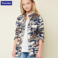 Creative Camouflage Coat 2017 Children's New Uniforms Coat Autumn Camouflage Long Sleeved Jacket Top Quality Girl Coat Hot Sale