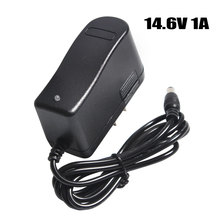 14.6V 1A Lithium Battery Charger 13.8V 14.4V Lithium Polymer Battery Power Supply Adapter Charger DC 5.5 *2.1 MM