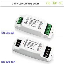 BC-330-5A LED Dimming Driver 5A*3CH 0-10V driver, BC-330-10A led Constant Voltage PWM 10A/1CH 0-10v dimming driver