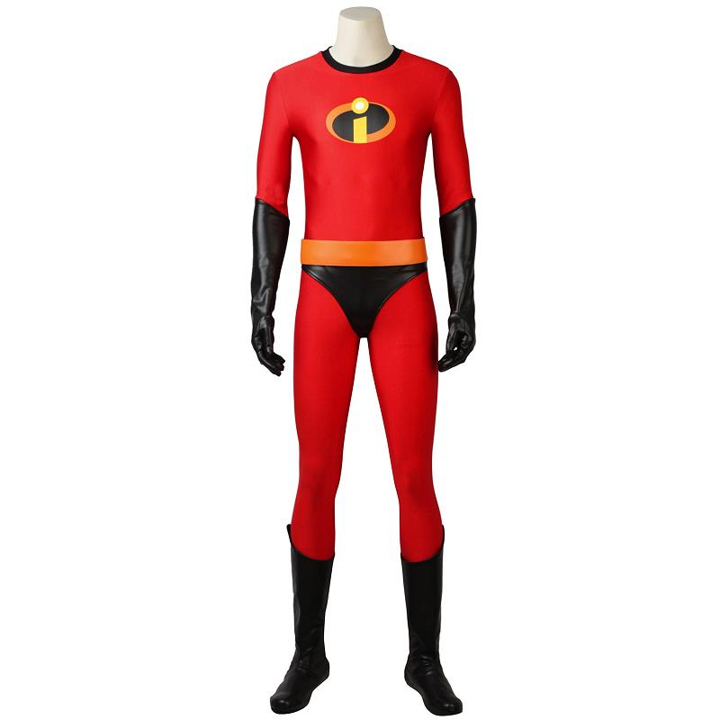 Incredibles 2 Cosplay Bob Parr Cosplay Costume Mr. Incredible Costume Halloween Outfit Adult Superhero Custom Made Costume