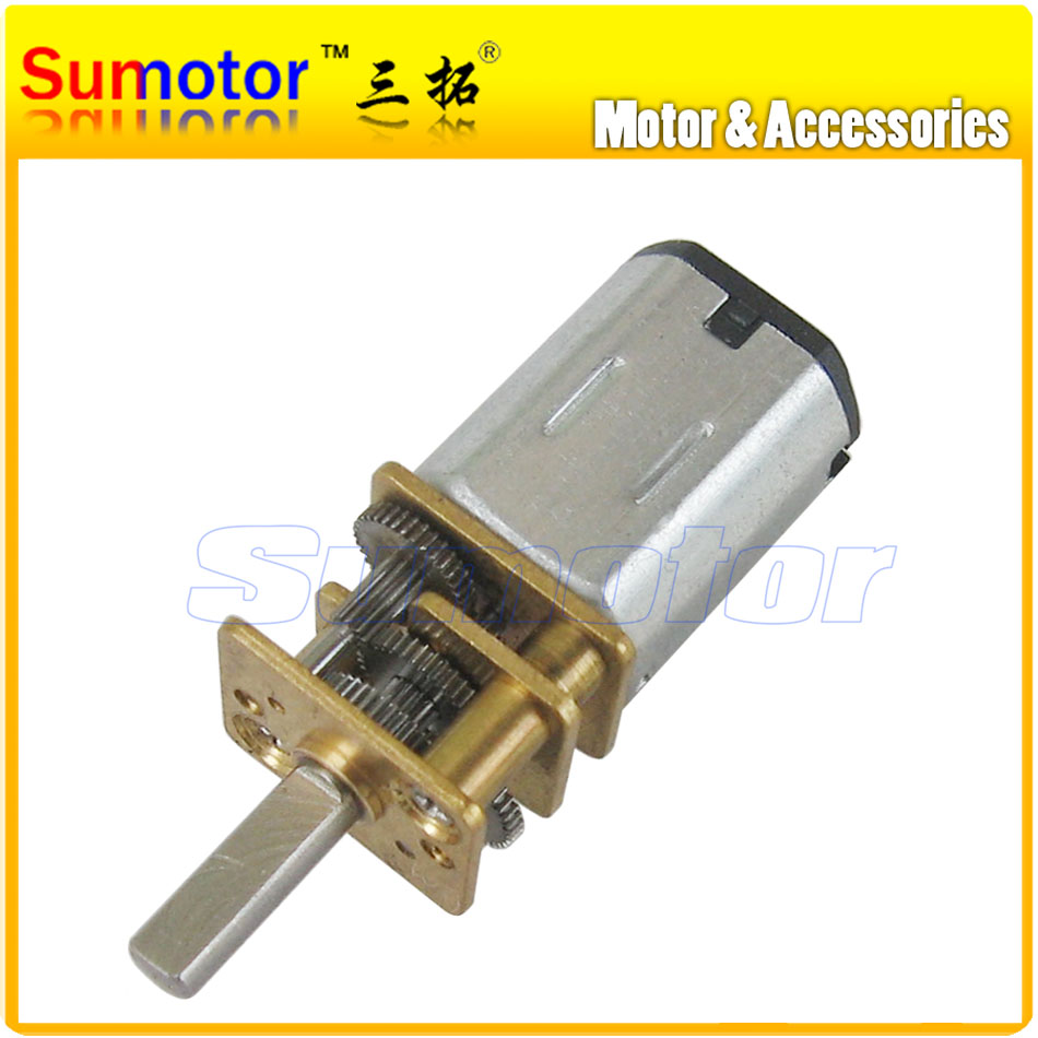 12GA DC 3V Miniature Electric Reduction Gear Motor Metal Gearbox N20 RC smart car Robot model DIY engine Toys Electric door lock