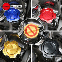 1pc Car Styling Aluminum Alloy Engine Oil Cap Fuel Filler Cover for Subaru XV Forester 19 Outback Auto Car Accessories
