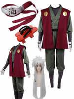 Anime Naruto Jiraiya Cosplay Kostüm Ganze Set Halloween kostüme