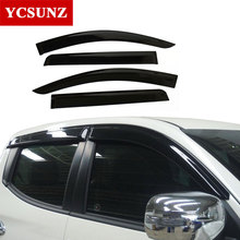 2016-2019 Window Visor For Mitsubishi Pajeo Sport 2017 weather shields Deflectors Guard mitsubishi montero sport 2018 Ycsunz