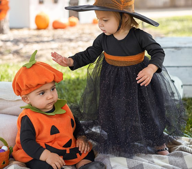 HTB11TlUXi6guuRkSmLyq6AulFXat 0-3Y Newly Cosplay Halloween Toddler Baby Kid Pumpkin Print Sleeveless Romper Jumpsuits Tops+Hats Baby Clothes 2PCS Costumes