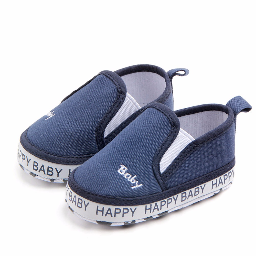Newborn Shoes First-Walker Baby Cotton Non-Slip Casual Solid Soft Z0828 TELOTUNY Embroidery