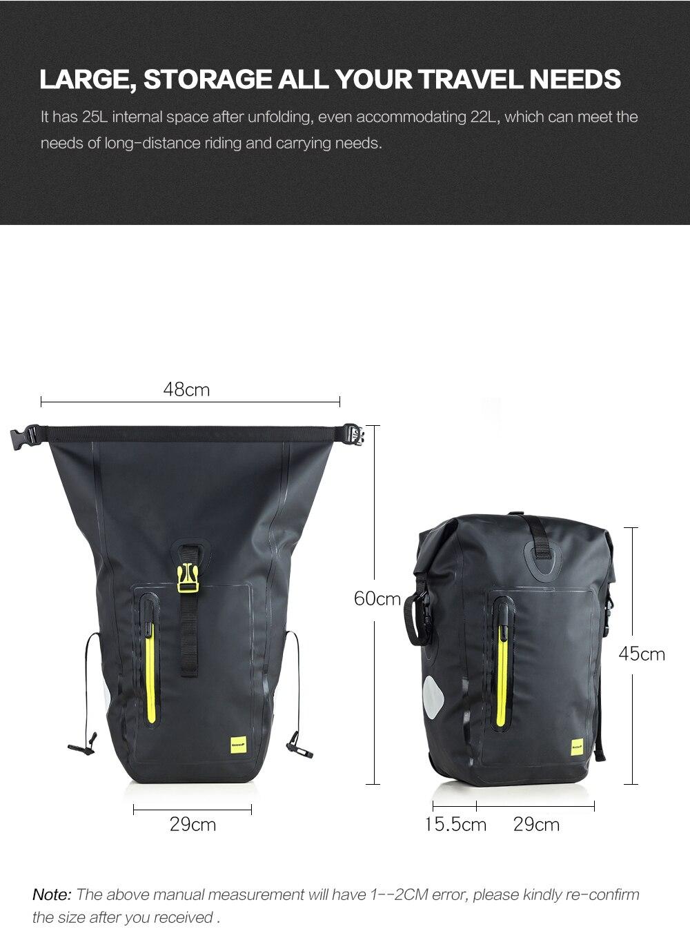 Waterproof cycling bike pannier bag (6)