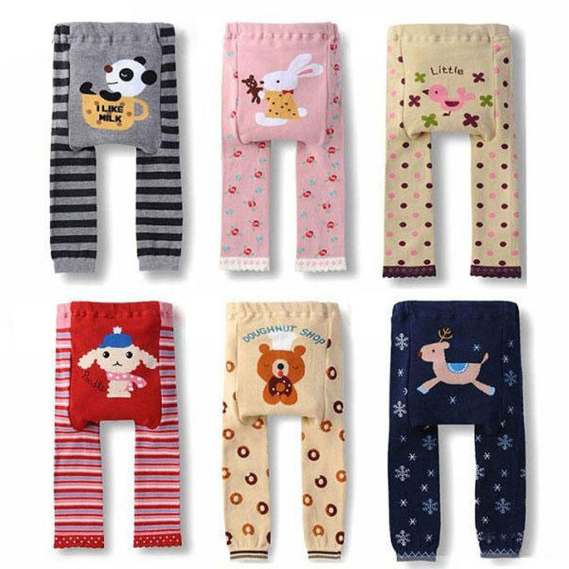 Baby Children Kids PP Pants Long Pants Cartoon Legging Cotton Wear Pants High Quality Boys Girls Pants