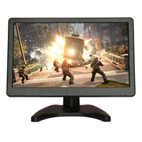 H1116 11 6 Inch Portable HDMI Monitor For PS3 PS4 XBOx GAME With AV BNC VGA
