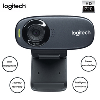 Logitech C310 Desktop PC Camera TV Notebook USB Free Drive HD Network Live Video with Microphone 500W Pixel Noise Reduction