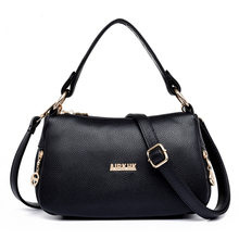 Women s Messenger Bags Women s Handbags Genuine Leather Casual Ladies Totes Bag Female Shoulder Bags