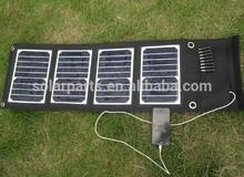 High Quality 18W Foldable Solar Charger Mono Solar Panel Chager For iphone Mobile Power Bank Battery