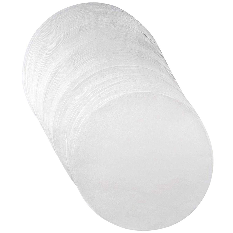 Parchment Paper Baking Circles - 8 Inch - 200 Eco-Friendly Pack - Baking Paper Liners for Round Cake Pans Circle Cheesecake, C
