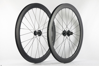 disc brake carbon road bike wheels 6 Bolt Hubs 23mm width UD 3k Clincher chinese carbon bicycle Wheelset CX3 791 792 hubs