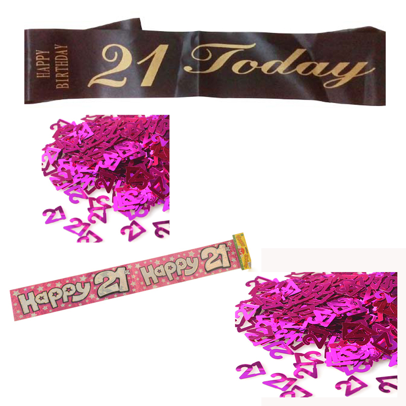 Online buy wholesale 21st birthday decorations from china for 21st birthday decoration