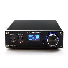 Venda quente D802 FX-Áudio Profissional família Puro Amplificador de Áudio Digital de ALTA FIDELIDADE Para A Rússia Frete Grátis