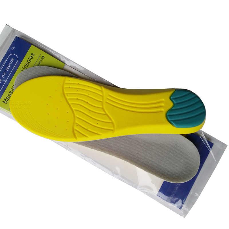 คลาสสิกกีฬานุ่มรองเท้า pad สบายพื้นรองเท้าช็อก absorption insoles breathable เหงื่อดูดซับเท้า cushion deo