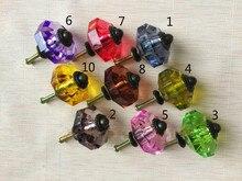10pcs Acrylic Zinc Alloy Handle Zinc Alloy Cabinet Multicolor Children Wardrobe Drawer Cartoon Pull