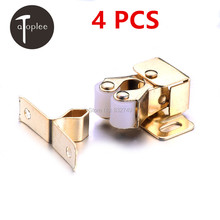 NEW 4 PCS Magnetic Buckle for Cabinet Door Lowest Prices Bathroom Toilet Small Large Lock Catch Latch Gate Lock With Screw