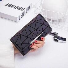 Women Wallets popular luminous color  Brand Purse girl Ladies Card Bag For Women  Clutch Women Female Purse Money Clip Wallet