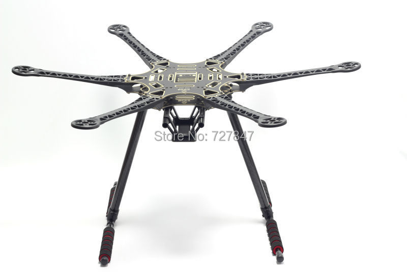 √S550 f550 500 actualización hexacopter Marcos kit con inflodable ...
