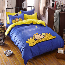 BeddingOutlet Dachshund Sausage Duvet Cover Set Cute Rainbow Puppy Bedding Queen Size Soft Bedclothes Kids Cartoon 3 Pcs