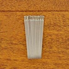 30 шт серебряных стальных ручных длинных швейных игл 6,6 см длинных штифтов
