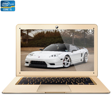 14inch Intel Core i5 CPU 8GB RAM+120GB SSD Windows 7/10 System 1920*1080 FHD Wifi Bluetooth Six Colors Laptop Notebook Computer