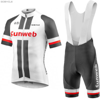 2017 Sunweb Team Cycling Jersey Bike Shorts Breathable Ropa Ciclismo MTB Bicycle Wear Mens BICYCLING Maillot