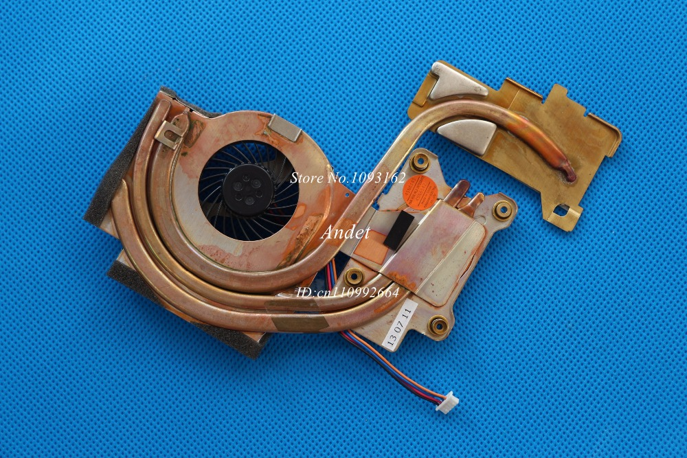 New Original for Lenovo ThinkPad T400 Heatsink CPU Cooler Cooling Fan Cooler Discrete Graphics System 45N6144 45N6145 original for asus laptop heatsink cooling fan cpu cooler k52 k52j a52j a52j x52j cpu heatsink