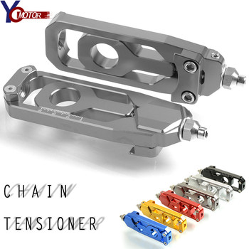 For yamaha MT-09 FZ-09 FZ09 MT09 FZ MT 09 Motorcycle accessories Rear Axle Spindle Chain Adjuster Tensioners Catena CNC Aluminum