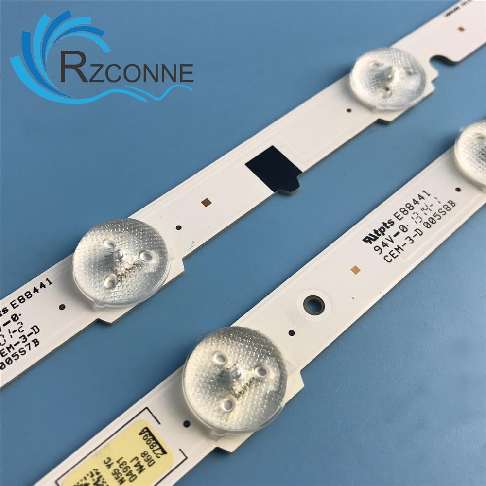 "LED backlight strip 15 lamp For Samsung 46""TV UE46F5000 25306A 25307A UA46F5000 ua46f8000 UA46F5070 2013svs46 3"