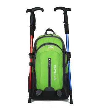 3 colori 40L Sacchetto di Arrampicata Telaio Interno della Donna Degli Uomini di Sacchetto di Nylon Impermeabile Unisex Materiale di Campeggio di Viaggio di Sport Zaino Esterno