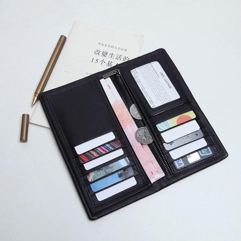 6dce75b39818 Купить LANSPACE натуральная кожа мужские кошельки ультра тонкий кошелек  держатель для карт известный бренд дизайнер кошелек Цена Дешево
