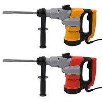 2018 Elettrico Triple-Purpose Ad Alta Potenza Hammer Kit Cemento Breaker Parete Demolishing Perforazione 2 Scalpelli 3 Trapani J25C26