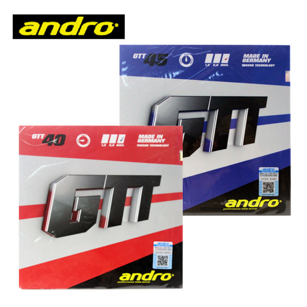 Andro GTT40 GTT45 Pimples In Table Tennis Rubber Pips-In Ping Pong Sponge Tenis De Mesa