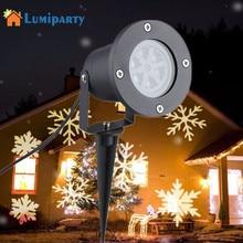Lumi вечерние открытый снежсветодио дный Инка светодиодный сценический свет движущийся снег лазерный проектор для садоввечерние вечеринки Ландшафтная лампа Рождественское украшение