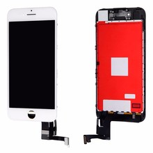For iPhone 7 7Plus high copy LCD with Touch Glass Digitizer Assembly free shipping + Tempered Glass + Tools