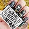 XYK-1 ШТ Nail Art Стампер Плиты DIY Пластиковые Инструмент Ногтя Гель Для Ногтей Принтер Передачи Ногтей Цветы Украшение Декоратор
