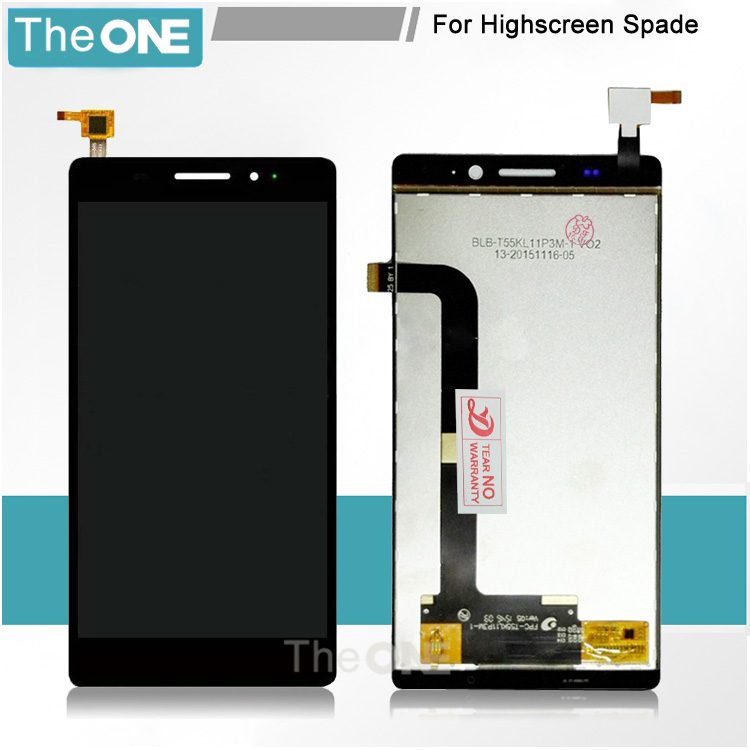 For Highscreen Spade LCD Display Touch Screen Digitizer Panel Assembly Replacement Part